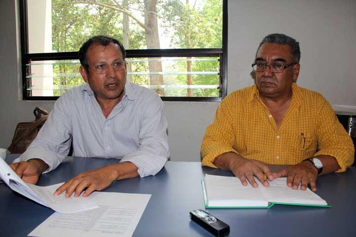 Gustavo Ortiz y José Luis Martínez, responsables de la iniciativa