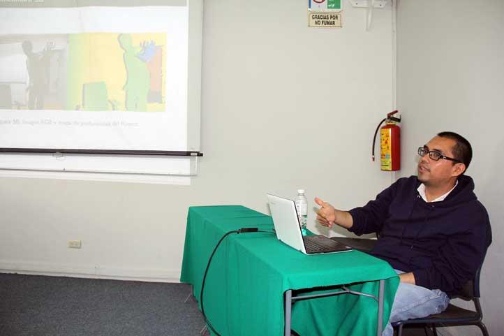 Arturo Curiel Díaz, del Instituto de Ingeniería de la UNAM