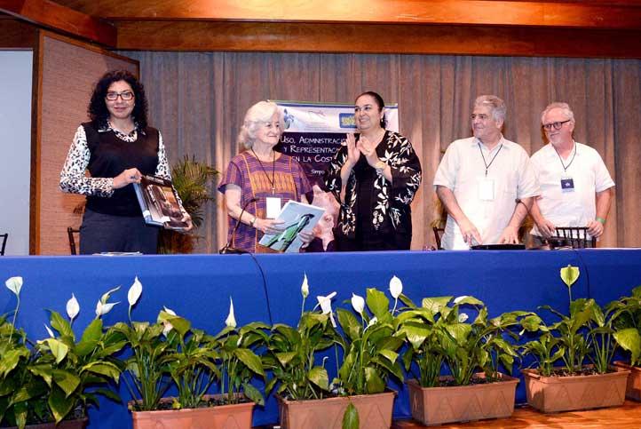 Ana Salazar, Miriam Kaiser, Sara Ladrón de Guevara, Vincent Cianni y Christopher Pool
