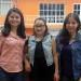 Diana Gallardo, Yannai Delgado y Evelyn Aguilar