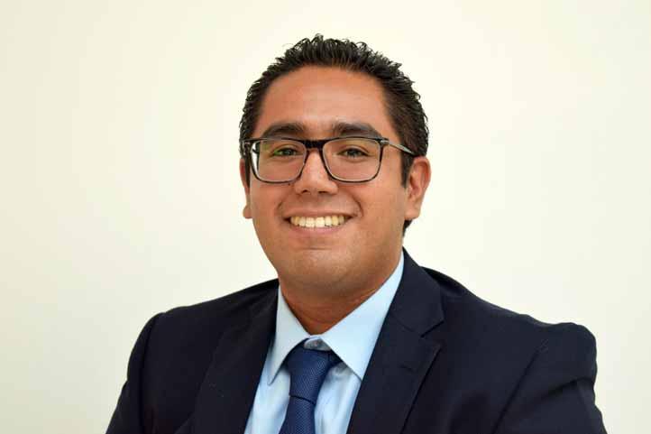 Fernando Rebolledo Uscanga cursa el doctorado en la Universidad Rutgers