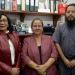 Belinda Izquierdo, Evangelina Rizzo y Rafael Rojano