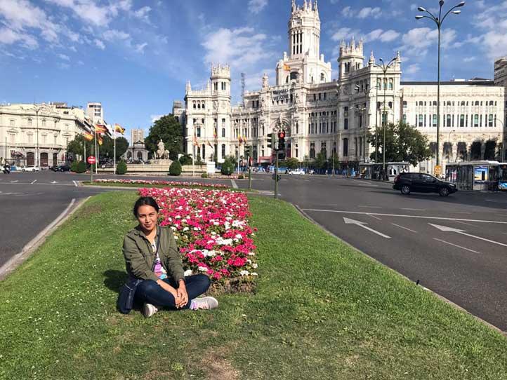 Xanath Alejandra Gómez Lira está en la Universidad Complutense de Madrid