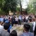 En Xalapa, la Rectora participó en el simulacro de Arquitectura
