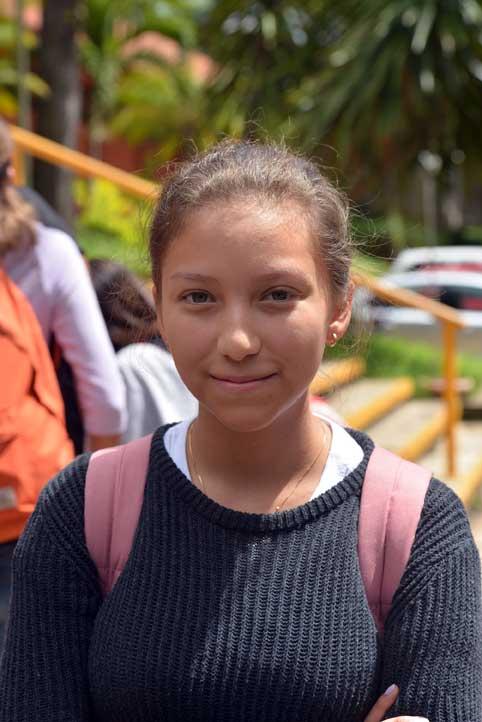 Gabriela, de Ingeniería Química