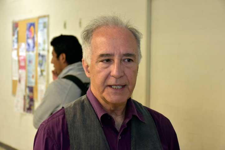 Juan Capetillo Hernández, coordinador de Asuntos Estudiantiles
