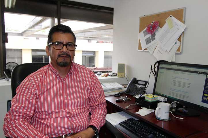 Antonio Lagunes Fuertes, jefe del Departamento