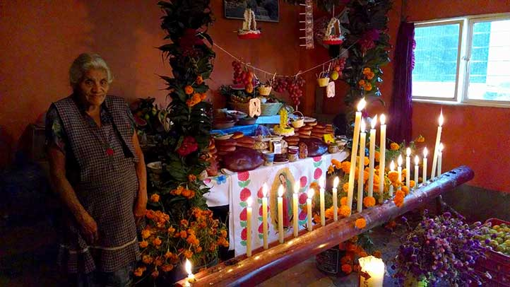 Altar en San Pablo Coapan