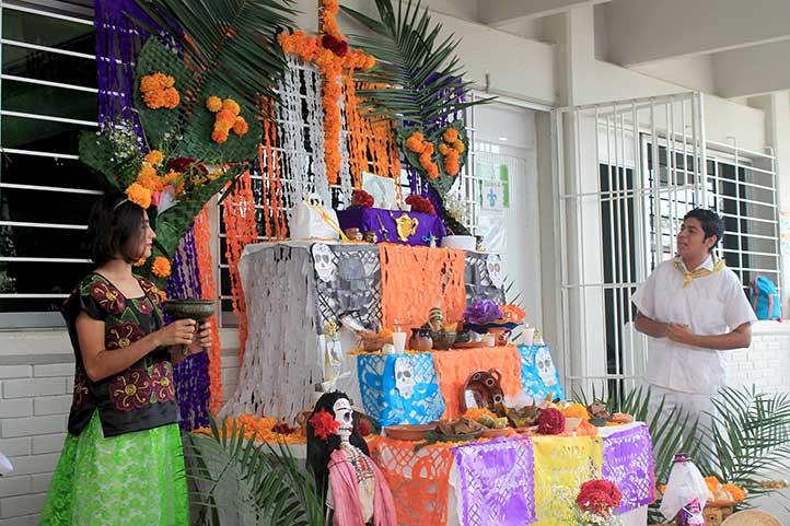 Colorido festejo en Enfermería-Minatitlán