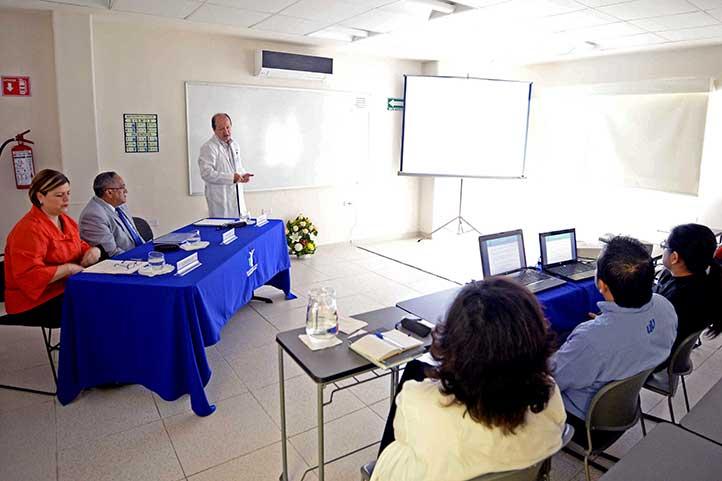 Alejandro Escobar Mesa, director de la CUSRS, rindió informe de labores