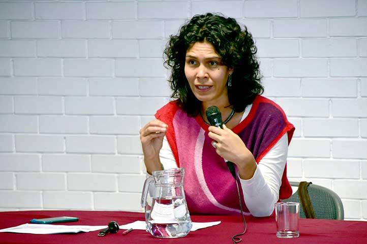 Andrea Medina Rosas impartió charla en la Unidad de Humanidades