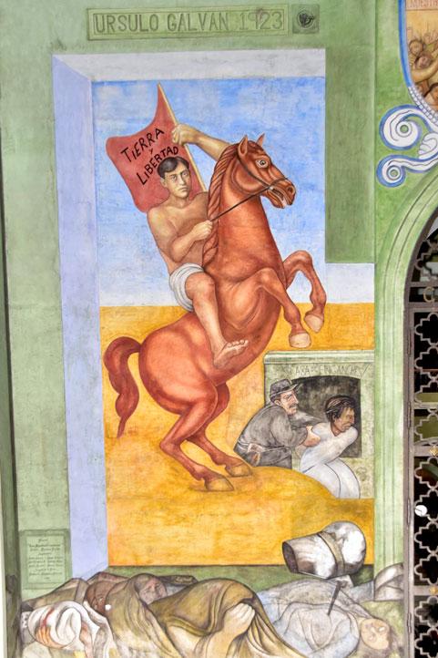 Úrsulo Galván fundó la Liga de Comunidades Agrarias