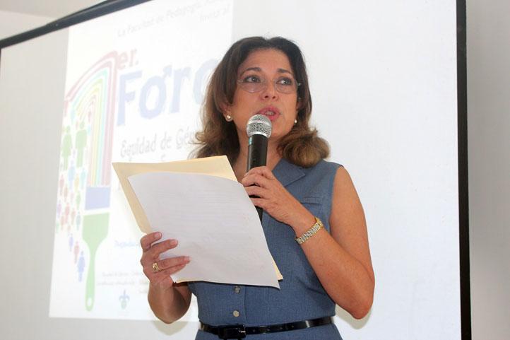 Rocío Liliana González Guerrero, directora de Pedagogía