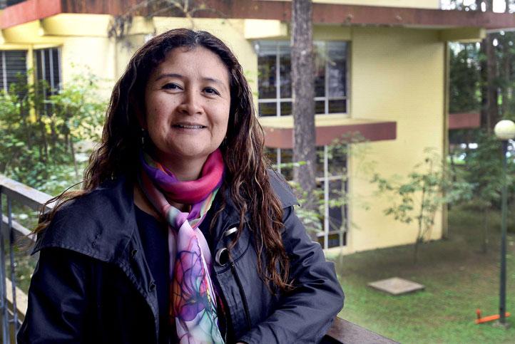 Casados González es profesora de la Facultad de Antropología e integrante del CEGUV