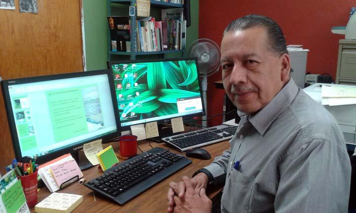 Gilberto Silva López, del Instituto de Investigaciones Biológicas