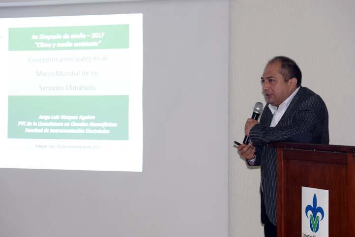 Jorge Luis Vázquez Aguirre, académico de Ciencias Atmosféricas