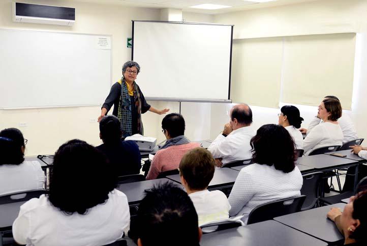 La Coordinadora de la Unidad de Género impartió charla en la CUSRS