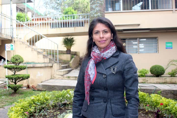 Yesenia Trejo Cruz, integrante del IIJ