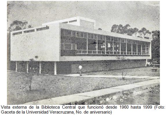 Historia unidad de servicios bibliotecarios y de for Universidades en xalapa