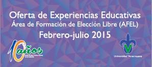 Oferta Educativa AFEL 2015