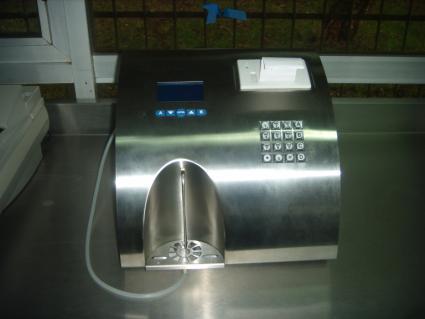 Analizador automático infrarrojo para leche