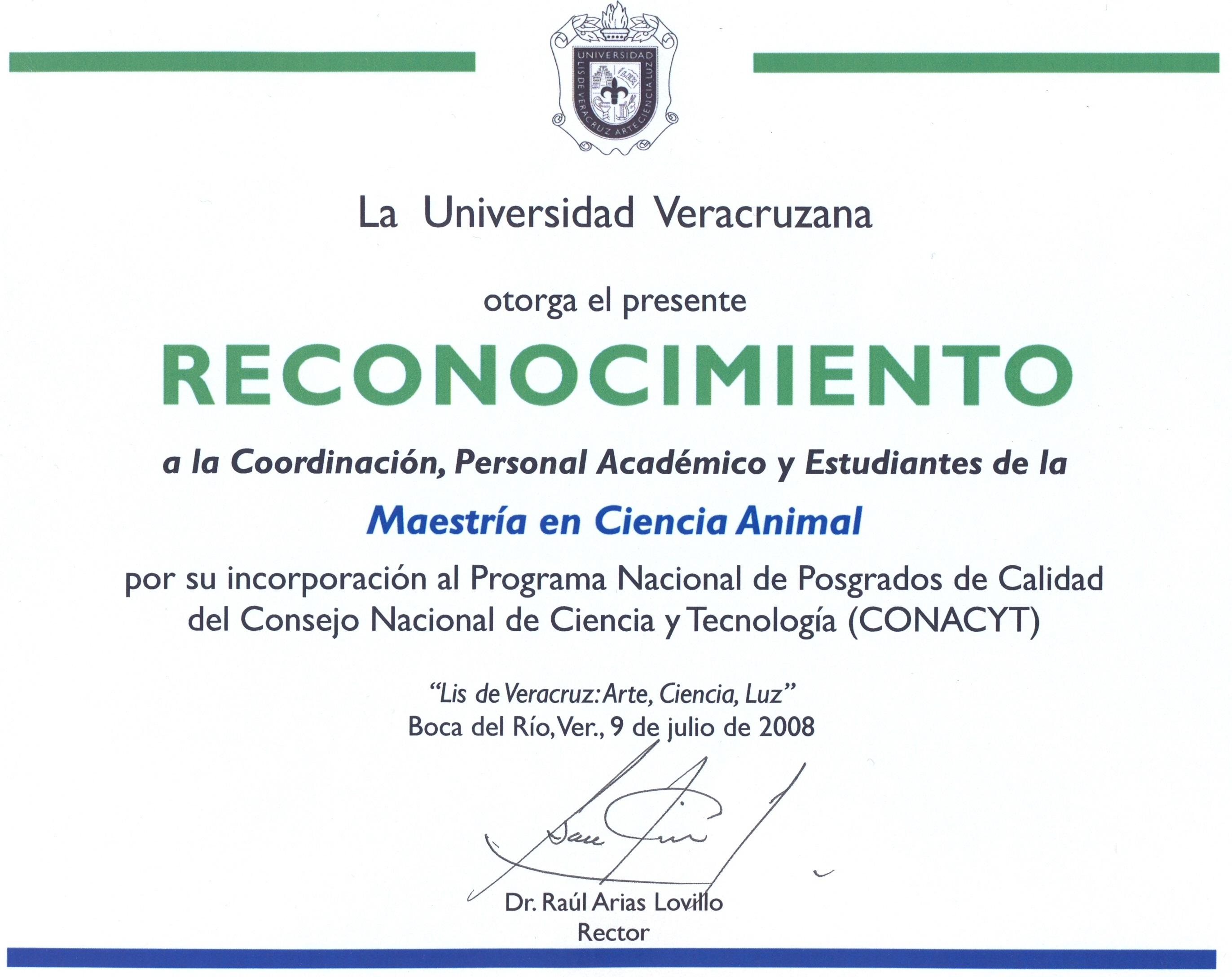 MCA-CONACyT-2008