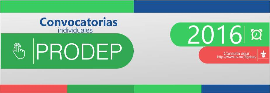 Prodep16 for Convocatorias para profesores 2016