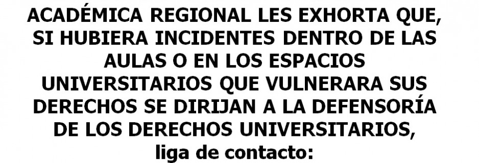aviso incidentes
