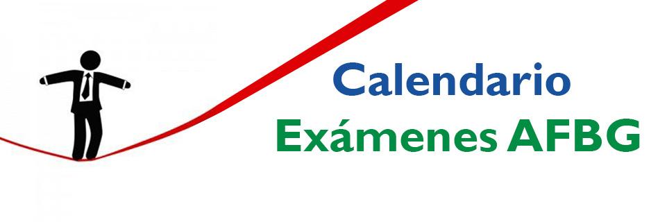 Examenes AFBG BANNER