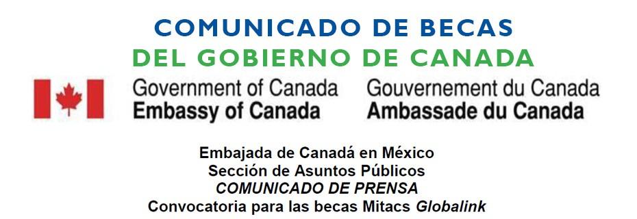 27-09-2014 Becas del Gobierno de Canada