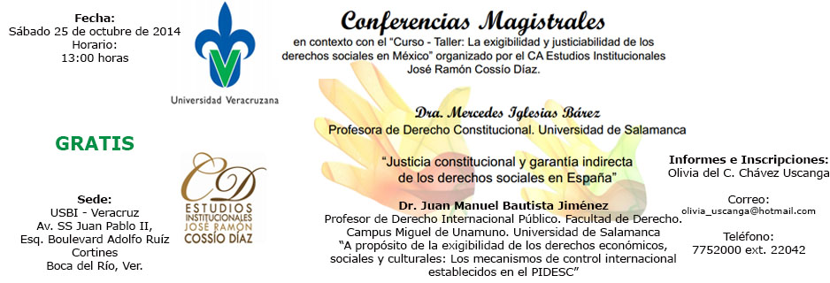17-10-2014 Conferencias Magistrales