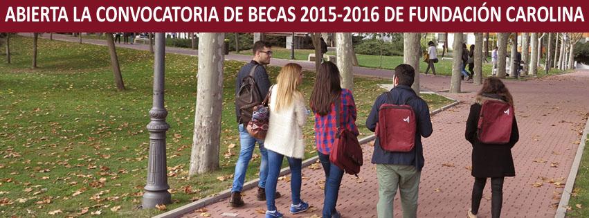 10-01-2015 BecasFundacionCarolina